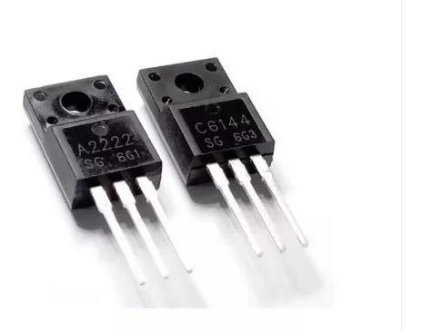 Par Transistor C6144 E A2222 (envio Por Carta Registrada)