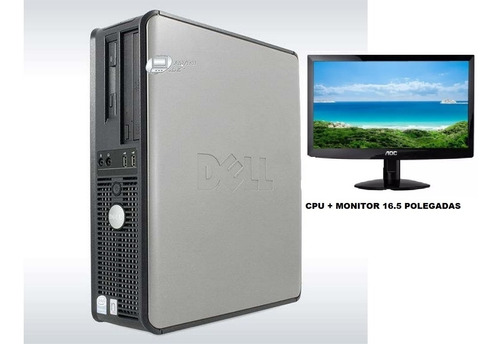 Cpu Dell Optiplex Gx620 Intel Pentium 4 2gb + Monitor 17