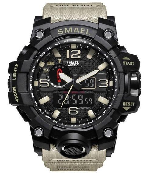 Relógio Militar Tático Smael Original Prova D