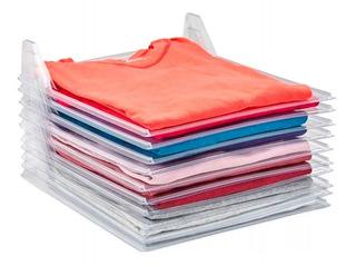 X10 Bandejas Organizadoras De Camisas Remeras # Placard Archivador Ropa Archivos Orden