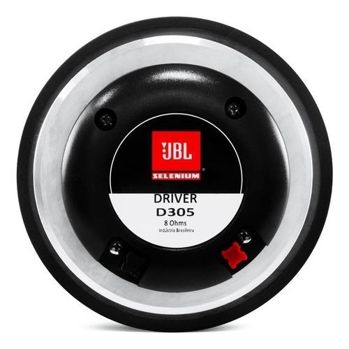 Driver Jbl Selenium Original D305 75w Rms 8 Ohms 75mm
