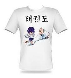 Imagem 1 de 3 de Camisa Thikeo Artes Marciais Taekwondo