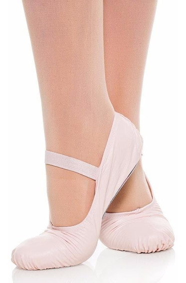Sapatilha Meia Ponta Ballet Ballet Dança - Korino Sintética
