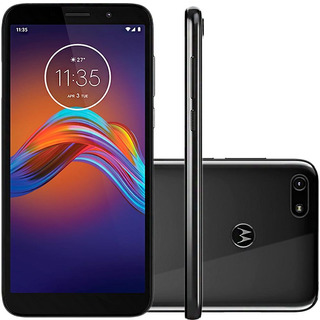 Celular Motorola Moto E6 Play Cinza Metalico 32gb 5.5 13mp