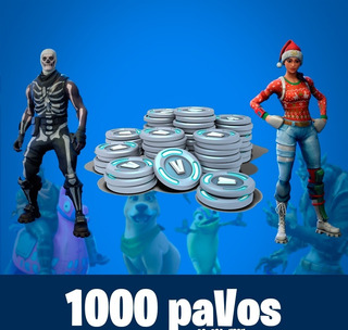 Fornite 1000 Pavos Solo Pais Peru