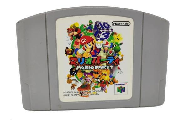 Jogo Mario Party 100% Original Japones Para Nintendo 64 N64