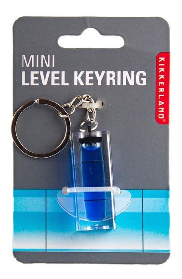 Llavero Nivelador Azul Nivel Herramienta Utilitarios C/envío