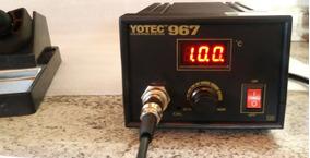 Estação De Solda 110 E 220 Volts Automático. Com Diplay.