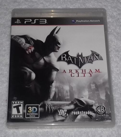 Batman Arkham City R1 Ps3 *** Leia Frete Gratis
