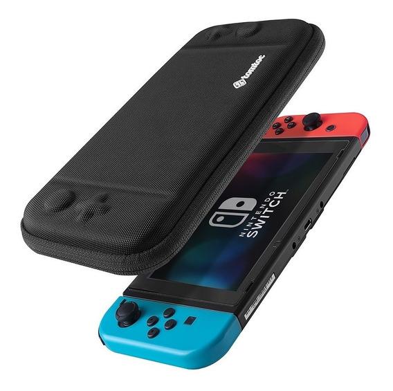 Nintendo Switch Funda Estuche Protector Tomtoc Negro