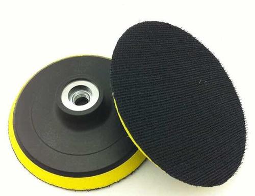 Disco 41/2 Con Velcro Para Amoladora