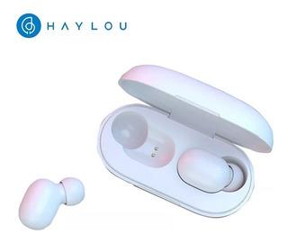 2 Unidades - Fones Bluetooth 5.0 Haylou Gt1 - Preto E Branco