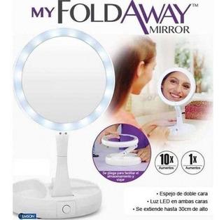 Espejo Led My Fold Away Mirror, Con Iluminación