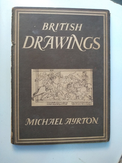 Livro - British Drawings - Michael Ayrton Collins/london - 4