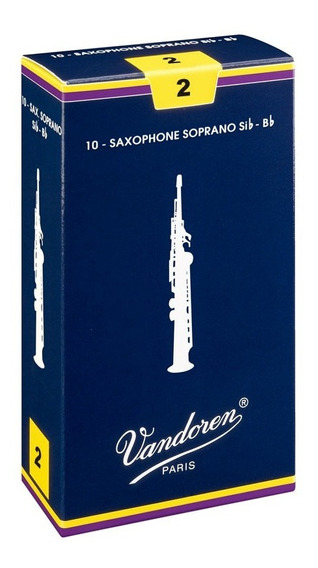 Palheta Vandoren Tradicional Sax Soprano Nº 2