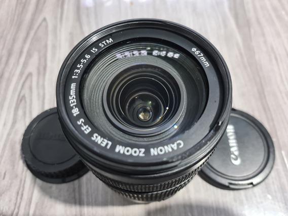 Lente Canon Ef-s 18-135mm F/3.5-5.6 Is Stm -leia Detalhe