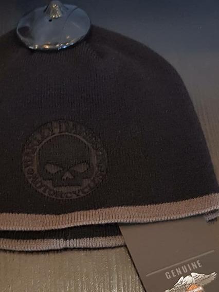 Gorro Harley Davidson Skull