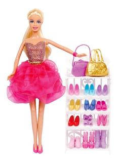 Muñeca Paloma Coleccion De Zapatos Artic Nuevo 6837 Bigshop