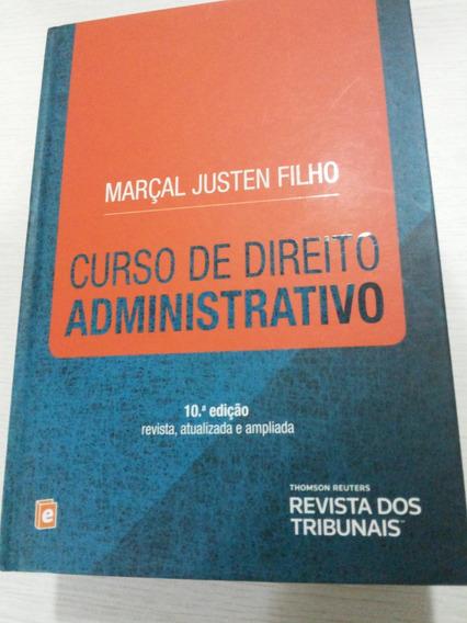 Curso De Direito Administrativo 10 Edição Marçal Justenfilho