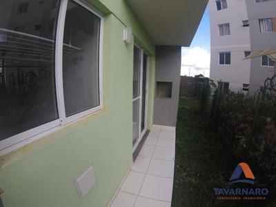 Apartamento Com 2 Dormitórios Para Alugar, 49 M² Por R$ 650/mês - Uvaranas - Ponta Grossa/pr - Ap1089