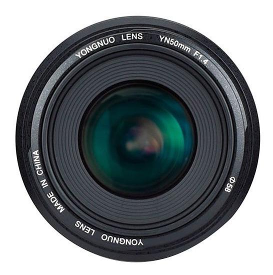 Lente Yongnuo Yn 50mm F / 1.4 Lens Para Canon Ef