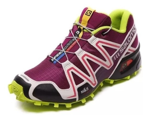 Salomon Speed Cross 3 Mujer, Trekking, Running, Gym - Salas