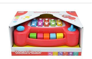 Piano Infantil Teclado Bebe Criança Som Educativo Seguro Top