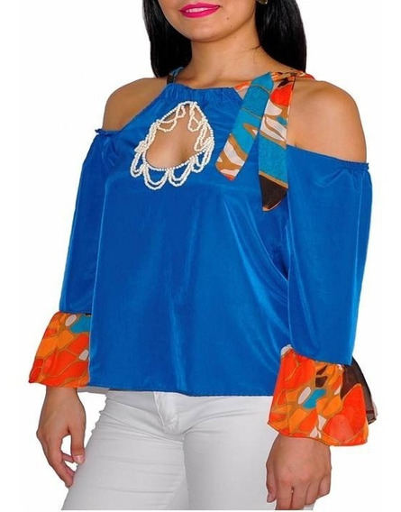 Blusa Bordada Fina- Diseño Exclusivo.