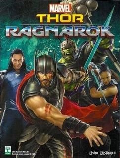 Álbum Thor Ragnarock + 100 Figurinhas Por R$ 39,90
