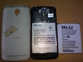 Blu Play 2 L170a Para Repuesto P10 Troups