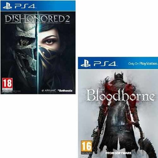 Juego Ps4 Bloodborne + Dishonored 2