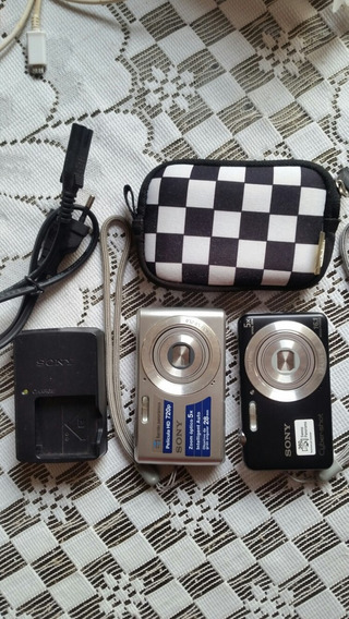 Duas Câmeras Sony (16.1 E 14.1) + Acessórios