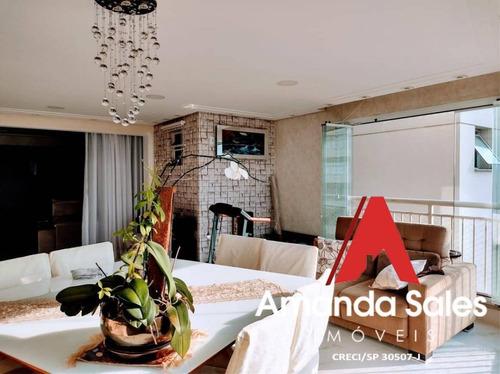 Lindo  Família Mooca, 3 Suítes, Sacada Gourmet, Aceita Permuta Mooca E Tatu - Ap00849e