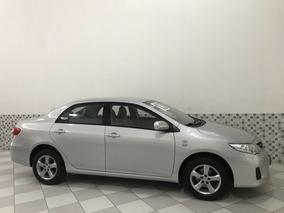 Toyota Corolla Xli 1.8 Flex 2013 Prata Automático