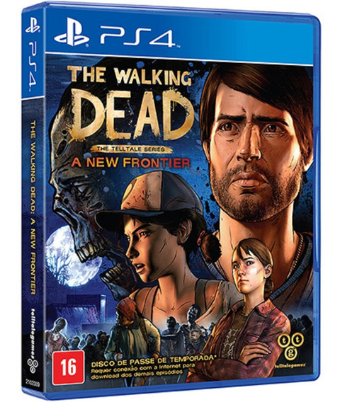 Game The Walking Dead A New Frontier Ps4 Física Leg Ptbr