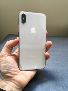 iPhone X 256g Branco (impecável!)