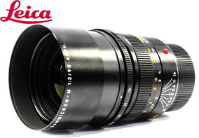 Lente Leica Summicron-m Apo 90mm F/2 Asph Nota 10