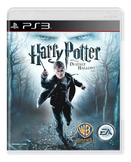 Harry Potter And The Deathly Hallows Part 1 Ps3 Mídia Física