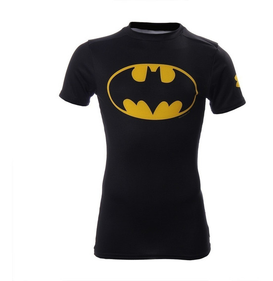 Under Armour Alter Ego Batman Playera Compresión Infantil Xs