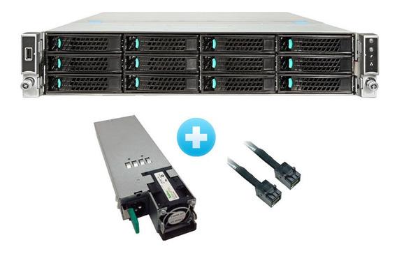 Servidor Intel 2x Xeon E5-2670 V3 128gb Ram Sem Hds