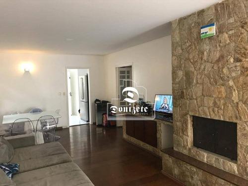 Casa Com 3 Dormitórios À Venda, 225 M² Por R$ 1.500.000,00 - Vila Alpina - Santo André/sp - Ca0600