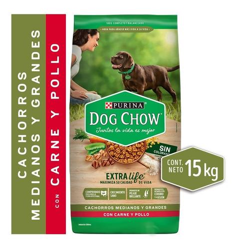 Dog Chow® Cachorros Medianos Y Grandes 15kg