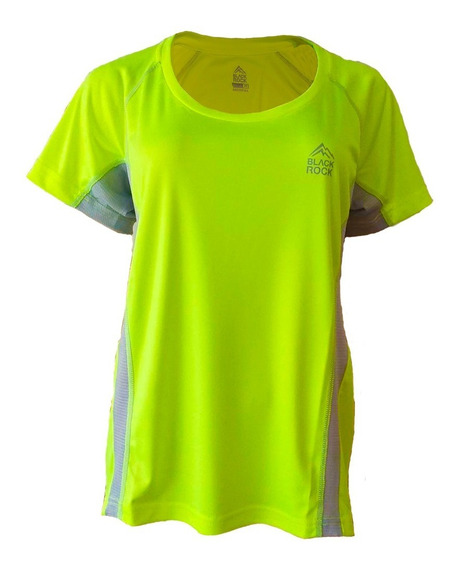 Remera Running Mujer Black Rock