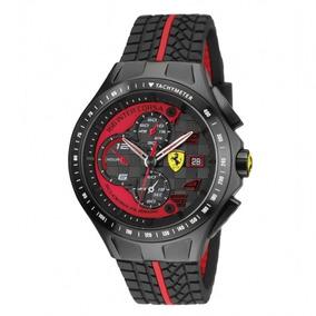 Reloj Ferrari 0830077 De Hombre Acero Inox Y Silicona