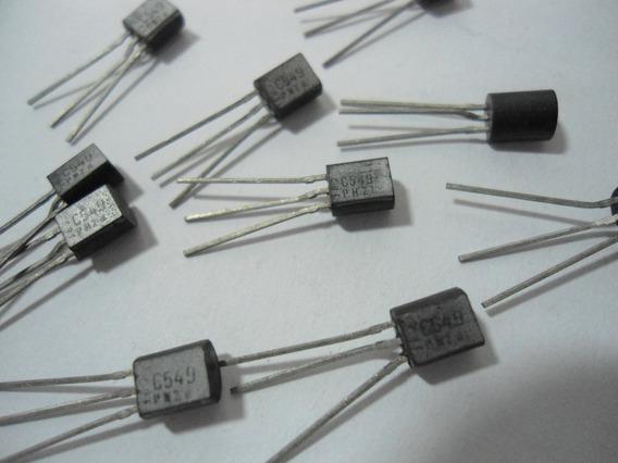 Transistor / Bc549 - Embalagem Com 5 Unidades