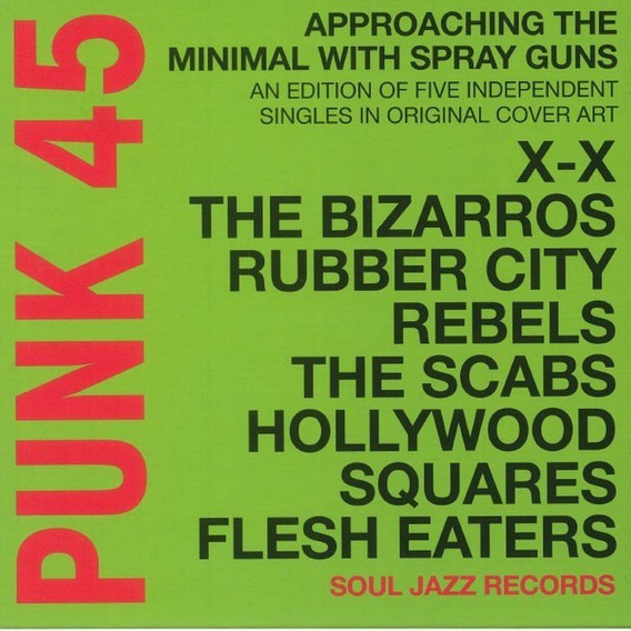 Punk 45 - Approaching The Minimal With Spray Guns Box Set