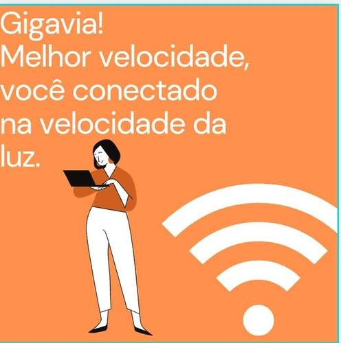 Internet Fibra Optica Chegou Em Caxias! Vem Pra Gigavia!