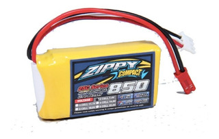 Bateria Lipo 850mah 7.4v 2s 25c Zippy Compac Dron Robotica