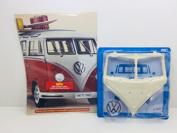 Fascículo Número 01 Volkswagen Kombi Samba 1962 1/8 Salvat