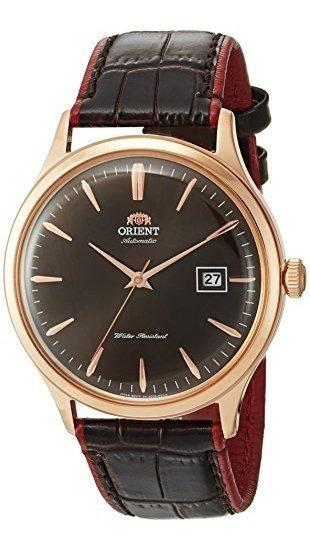 Oriente Bambino Version Iv Reloj Automatico Japones De Cuero